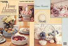 LA Home Accents Crocheted With Thread