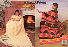 Patons Afghans to Crochet and Knit