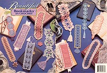 Annie's Attic Beautiful Bookmarks in Crochet