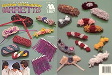 Annie's Attic Crochet Mother & Daughter Barrettes