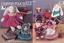 Kappie Country Folk Dolls to Crochet