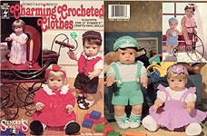 Charming Crochted Clothes for 14 inch baby dolls