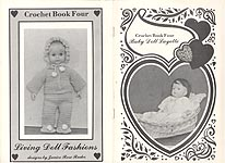 Living Doll Fashions Crochet Book Four: Baby Doll Layette