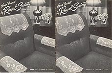 Hand Crochet by Royal Society, Book No. 5: Chair Sets, Runners