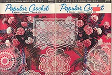 Lily Crochet Design Book No. 204: Popular Crochet Doilies, Edgings, Chair Sets