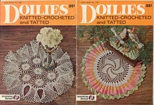 Star Doily Book No. 228: Doilies-- Knitted- Crocheted- and Tatted