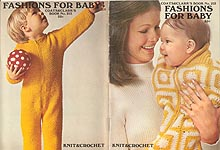 Coats & Clark's Book No. 213: Fashions for Baby