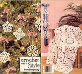 Crochet With Style From Simplicity 0047, Holiday Decorations to Crochet