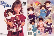 Annie's Attic Crochet Katina Fashions for 16 inch baby dolls