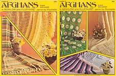 Leaflet 41: Afghans to Knit and Crochet in Mohlon and Fluffaire