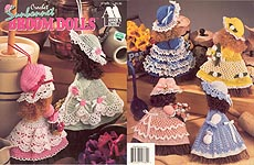 Annie's Attic Crochet Sunbonnet Broom Dolls