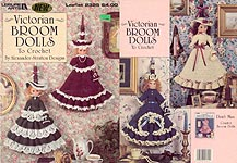 LA Victorian Broom Dolls