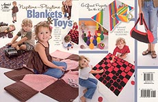 Annie's Attic Naptime - Playtime Blankets & Toys