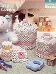 he Needlecraft Shop Crochet Collector's Series: Lacy Jar Covers
