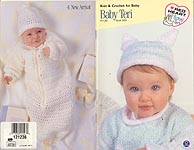 Red Heart Book No. 0139: Baby Teri Knit & Crochet for Baby