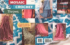 Annie's Attic Mosaic Crochet Throws