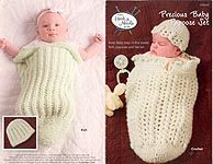 Annie's Hook &Needle Kit Club Precious Baby Papoose Set