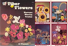 Fiber Flowers: Macrame, Weaving, Crochet