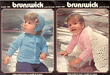 Brunswick Leaflet 7419: Baby Crochet in sizes 6 months 3 years