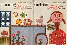 Lily Design Book No. 202: Crocheting With Lily Cotton Rug Yarn