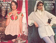 Coats & Clarks Book No. 262: Fashions Sizes 18 to 46
