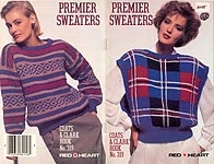 Coats & Clarks Book No. 319: Premier Sweaters