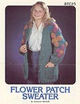 Annie's Pattern Club Flower Patch Sweater