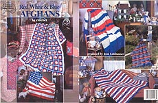 Red, White, & Blue Afghans