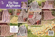 Annies Attic Crochet Tip Top Afghans