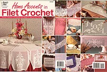 Annie's Attic Home Accents in Filet Crochet
