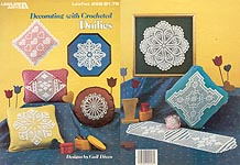 LA Decorating With Crocheted Doilies