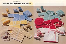 Ruth Lafon Blythe Crochet an Array of Layettes for Boys