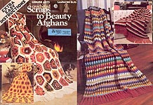 Crocheted Scraps to Beauty Afghans