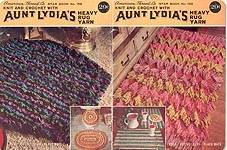 Star Book No. 158: Knit and Crochet with Aunt Lydia's Heavy Rug Yarn