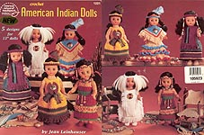 ASN American Indian Dolls outfits for 13 inch dolls