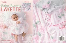 Leisure Arts Baby Blooms Layette