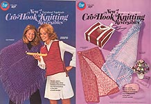 Boye New Turnabout Togabouts Cro- Hook Knitting Reversibles
