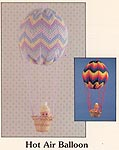 Mary Maxim Crochet Hot Air Balloon Mobile