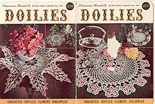 Star Doily Book No. 157: Doilies-- Crocheted, Ruffled, Flowers, Pineapples