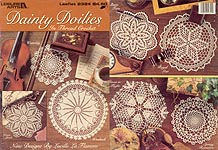 LA Dainty Doilies in Thread Crochet