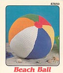 Annie's Attic crocheted Beach Ball