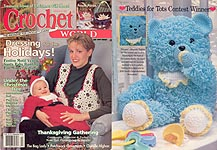 Crochet World, December 1997.