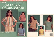 LA Quick Crochet Sweaters and Vests