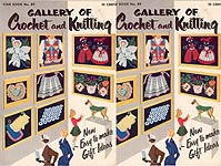 Star Book No. 89: Gallery of Crochet and Knitting