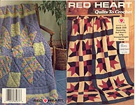 Red Heart Book 335: Quilts to Crochet