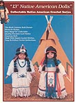 "Td creations 13"" Native American Dolls"