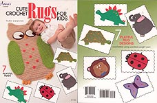 Annie's Cute Crochet Rugs for Kids