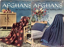 Coats & Clark's Afghan Book No. 505: Afghans and Matching Pillows
