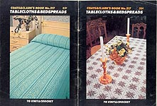 Coats & Clark Book No. 217: Tablecloths & Bedspreads to Knit and Crochet