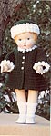 Green Coat and Hat for 18 inch dolls
